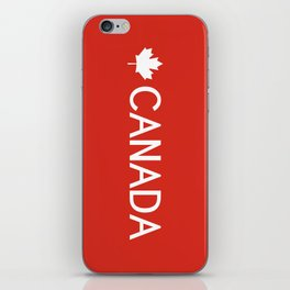Canada: Maple Leaf iPhone Skin