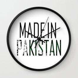 Made In Pakistan Wall Clock