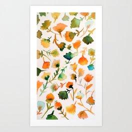 jolies fleurs Art Print
