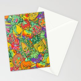 Fruity Hero by BKK BROS. Stationery Cards