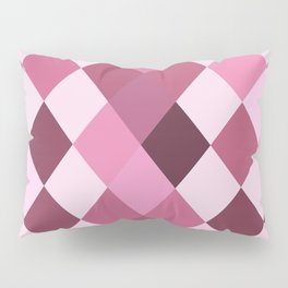 Pink Roses in Anzures 3 Harlequin 1 Pillow Sham