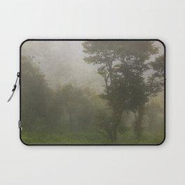 A foggy day in Dharamsala, India Laptop Sleeve