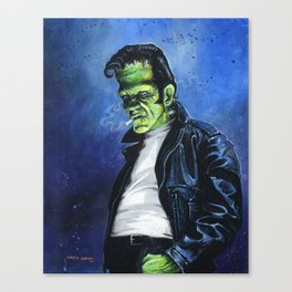 Rebel Frankenstein Canvas Print