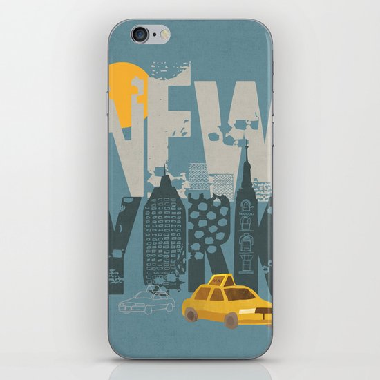 New York! New York! iPhone Skin