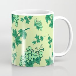 Seamless background from bunches of grapes Coffee Mug