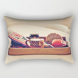 Coffee Break, Israeli Style Rectangular Pillow