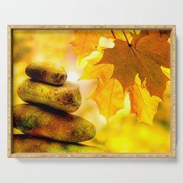 Fall meditation Serving Tray