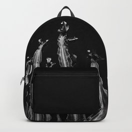 Cactus - black and white Backpack