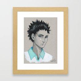Seijou's Ace Framed Art Print