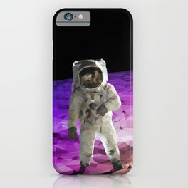 Astronaut Low Poly iPhone Case