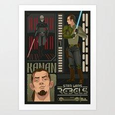 Rebel 2: Kanan Jarrus Art Print