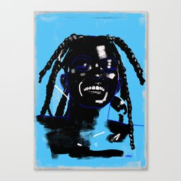 Black Smile Magic Canvas Print