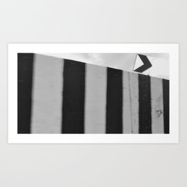 Signs are right Art Print
