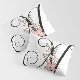 Letter N of the alphabet Pillow Sham