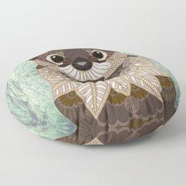 Ornate Otter Floor Pillow