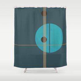 Geometric Abstract Art #4 Shower Curtain