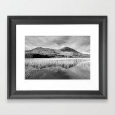 Loch Cill CHRIOSD B&W Framed Art Print