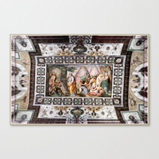 The Italian Ceiling Canvas Print