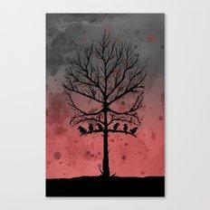 Skull Tree II  Canvas Print