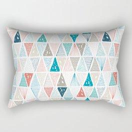 Wondrous Earth Pattern Rectangular Pillow
