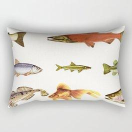 Fishing Line Rectangular Pillow