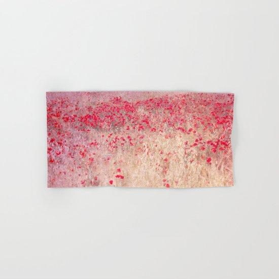 Fields of poppies Hand & Bath Towel