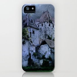 Darkness Halloween Castle iPhone Case