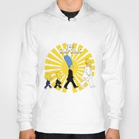 simpson Hoodies featuring Simpson Sun by sgrunfo