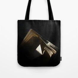A Slice of Sun: Paper Bag Tote Bag