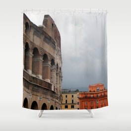 Stormy Rome Shower Curtain