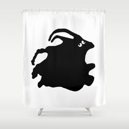 Faux Pas Shower Curtain