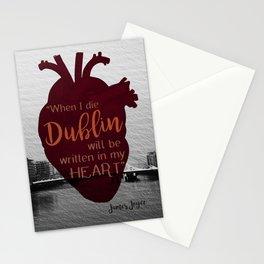 Dublin Heart Stationery Cards