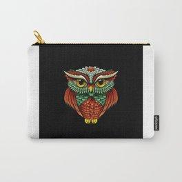 Bird Owl Lover Gift Idea Design Motif Carry-All Pouch