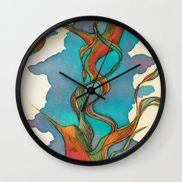 Vuelo de colibrí. 7 Wall Clock