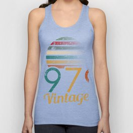 Classic Vintage 1979 Design T-shirt Design Retro Boombox Old-Fashion Neon Party Music Vinyl  Unisex Tank Top