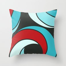 Iced Voodoo Donut Throw Pillow