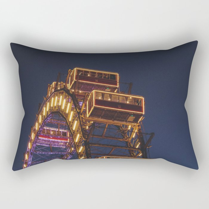 Ferris Wheel II Rectangular Pillow