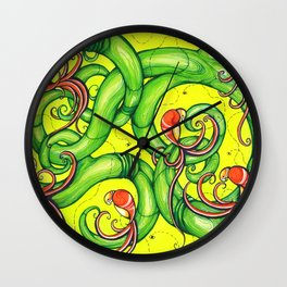 BIRDS - I have the original of this for sale. Framed and Matted  (both Black). $350 Wall Clock