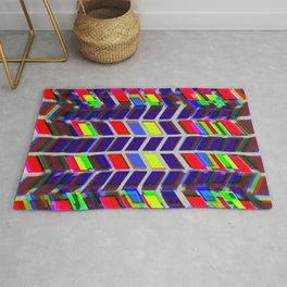 Contrasting Directions Rug