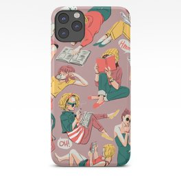 Reading Gals iPhone Case