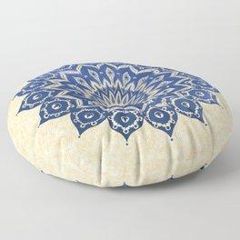 ókshirahm sky mandala Floor Pillow