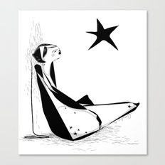 Not all about your lucky star Canvas Print