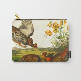 Pinnated Grouse Bird Carry-All Pouch