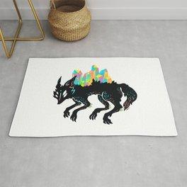 Сrystal wolf Rug