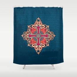 Noble House III Shower Curtain
