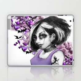 Z imagination The Goth Laptop & iPad Skin