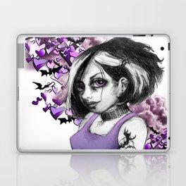 Z imagination The Goth Laptop & iPad Skin