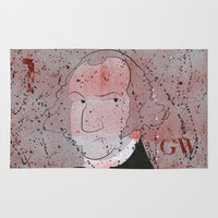 washington Area & Throw Rugs featuring Washington by Doren Chapman