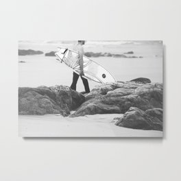 catch a wave IV Metal Print