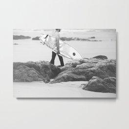 catch a wave IV Metal Print